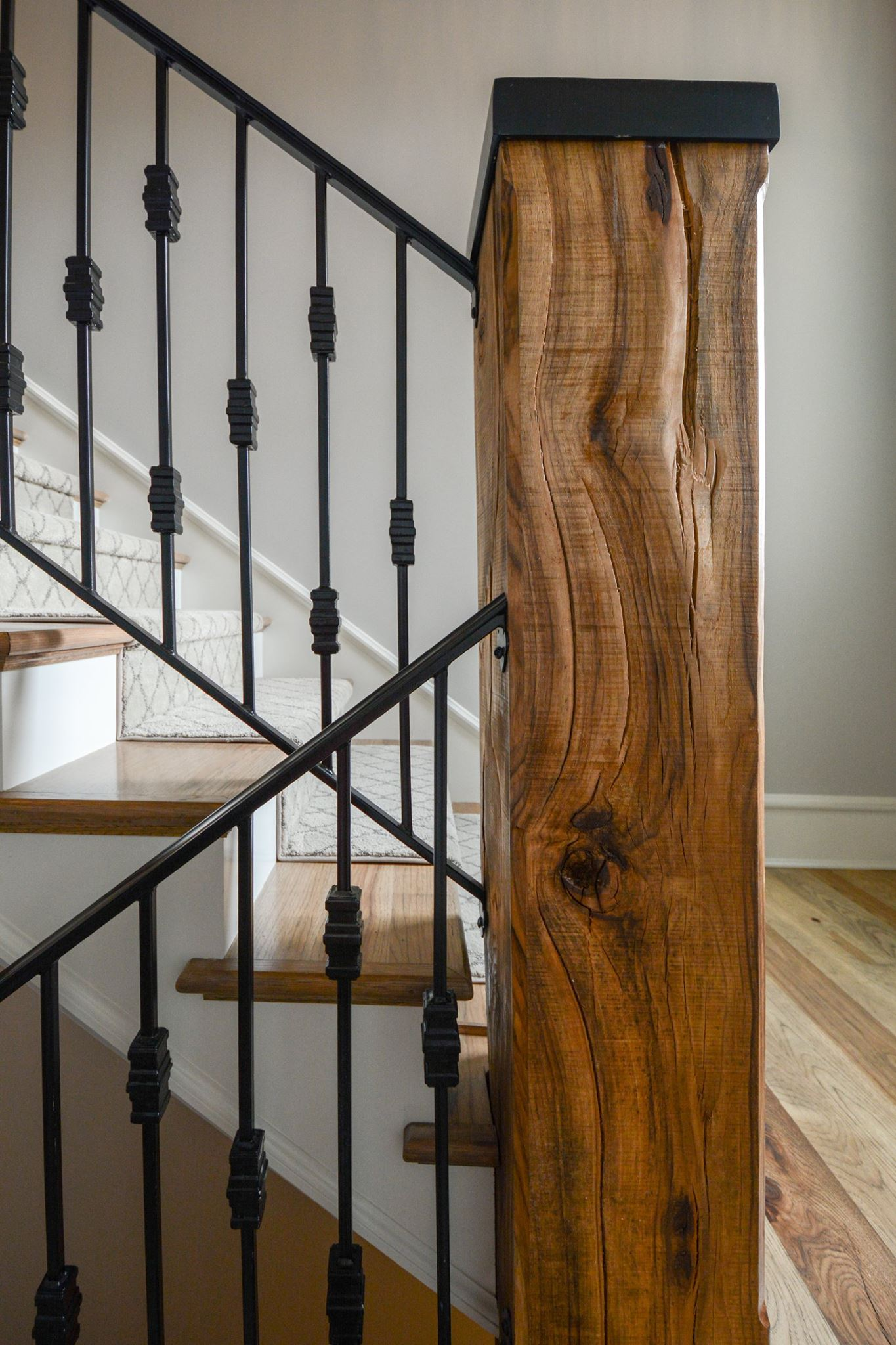 Wrought Iron Stair Rails