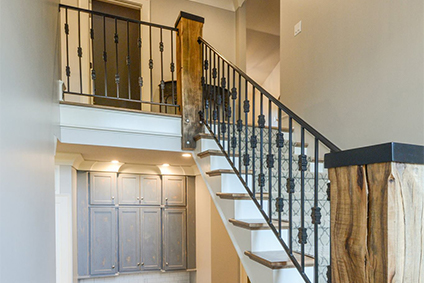 Perfect Wrought Iron Stair Rails